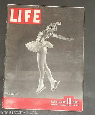 March 4, 1946 LIFE Magazine 40s Advertising ads add ad  FREE SHIPPING 3 5 6 7 8