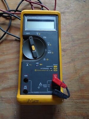 Fluke 79 Series II Multimeter with Impact Case and Leads