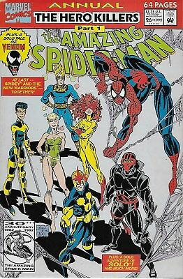 The Amazing Spider-Man Annual No.26 / 1992 The New Warriors / Scott McDaniel