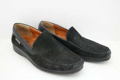 11251ed5e17 Mephisto Men s Shoes Cool-Air Loafers Slip On Black Nubuck Sz 9.5 FREE  SHIPPING!