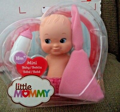 Fisher Price Little Mommy Mini Baby 1 Pink Blanket Flb36 *new*