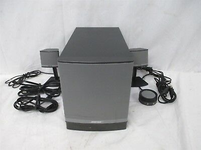 BOSE Companion 3 Series II Computer PC Multimedia Speaker System w Subwoofer