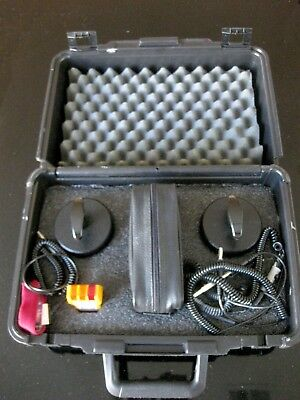 The Ohm-Stat RT-500 Megohmmeter Resistivity TesterKit with Accessories & Case