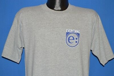 vintage 90s EVERYTHING I GOT THE HOOTCH GRAY BAND 1990s t-shirt LARGE L