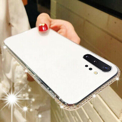 Bling Diamond Glitter Crystal Soft TPU Case Cover For Samsung Galaxy S9/S8 Plus