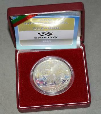 Portugal 1998 1000 Escudos Proof Silver Coin - Expo 98