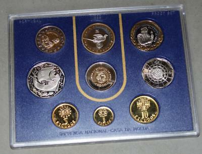 Portugal 1999 Proof Set - 9 Coins