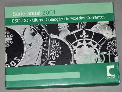 Portugal 2001 Proof Set - 7 Coins