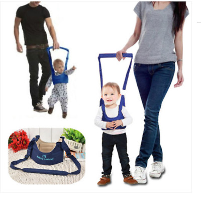 Baby Kids Toddler Walking Belt Waist Harness Aid Assistant Trainning Rein Tool