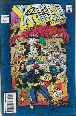 X-Men 2099 No.1 / 1993 Signed by Ron Lim & Adam Kubert with Certificate