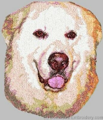 Embroidered Ladies Fleece Jacket - Great Pyrenees DLE1548 Sizes S - XXL