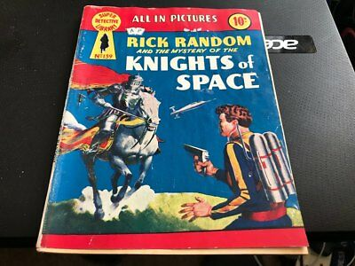 Super Detective Library--Rick Random And The Knights Of Space--Comic--No 139