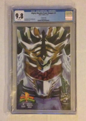 Mighty Morphin Power Rangers 9 Second Printing Variant CGC 9.8 1st Lord Drakkon