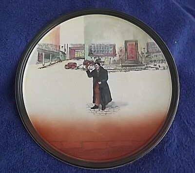 """Royal Doulton*MR SQUEERS*14""""Dickens Series Ware CHOP PLATE*D5175-1941 Date Mark"""