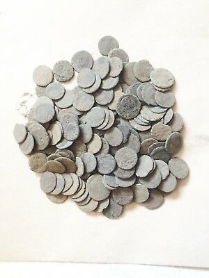 10 Lot of  Ungraded and Uncleaned Roman coins  !!