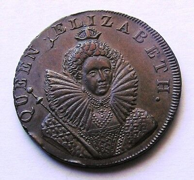 Great Britain Half Penny token 1794 Chichester Sussex token