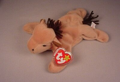 Ty Beanie Baby Babies Derby No star on head PVC tag  Mint with Tags MWT NWT 1995