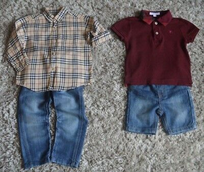 Burberry Baby Boy Designer Clothes Shirt Polo Shirt High St Jeans Shorts 2 Years