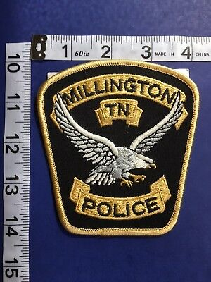 Millington  Tennessee  Police Shoulder Patch