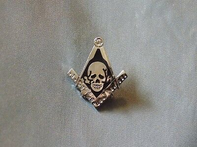 Masonic Lapel Tac Pin Cut Out Square Compass  NEW!