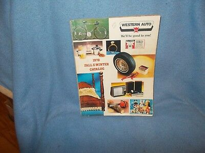 Western Auto 1978 Fall & Winter Catalog Star Wars Toys - Bicycles,dolls,toys++