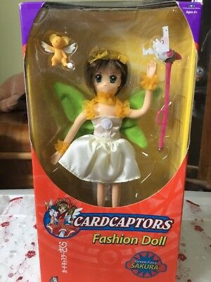 Cardcaptors Fashion Doll Green Fairy Sakura Trendmasters 2000 NRFB