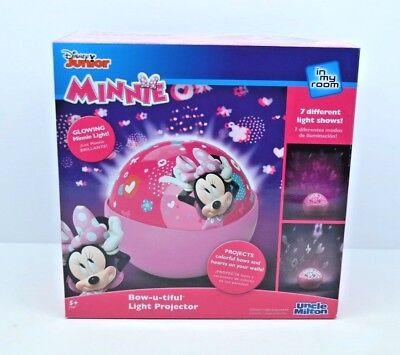 In My Room Disney Minnie Mouse Bow-u-tiful Tabletop Décor Night Light Projector