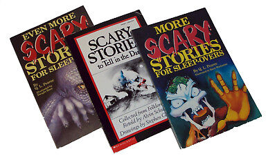 Lot 3 Even More Scary Stories For Sleepovers To Tell In The Dark Kids Set Books