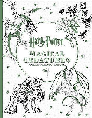 Harry Potter Magical Creatures Colouring Book by Warner Brothers (Paperback, 201