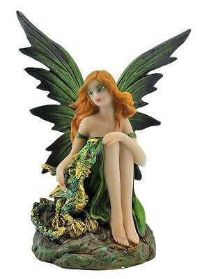 Forrest Fairy with Dragon