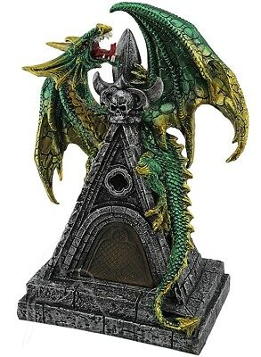 Green Dragon on Castle Roof