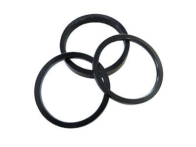 "Headset Spacer Set 1-1/8"" x 2/3/5mm x 34mm Anodised Black Prestine PT34A"
