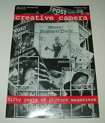 CREATIVE CAMERA Magazine FIFTY YEARS OF PICTURE MAGAZINES July/August 1982
