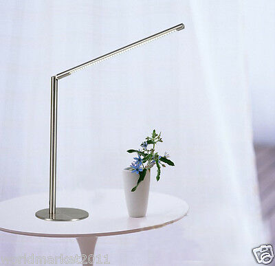 Modern Minimalist Style H40CM Stainless Steel Studyroom LED Table Lamp