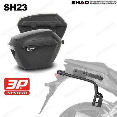 Set Shad Frames + Suitcases 3 P System Sh23 Yamaha Mt 09 Tracer '15-18