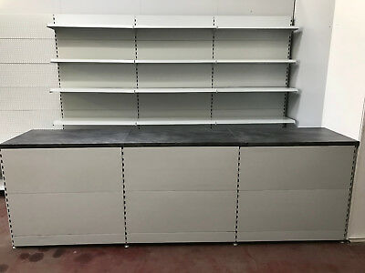 Counter Shelf Sales Kiosk ladentresen zigarettenregal 3M grundregal