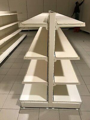 Tego Metal Shelf Shop Shelf warenregal Lebensmittelmarkt gondelregal 500M