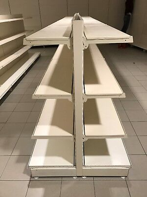 Tego Metal Shelf Shop Shelf warenregal Lebensmittelmarkt gondelregal 300M