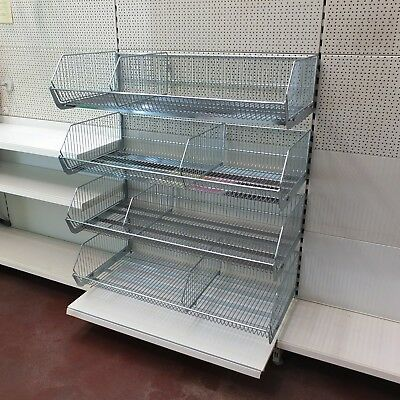 Tego Mesh Basket Hanging Shelf tenngitter Sanitary Fitting Warehouse Used 3M