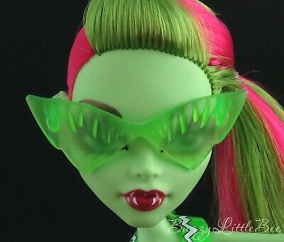 Monster High Doll~Venus McFlytrap~Swim Class~Green Sunglasses / Glasses