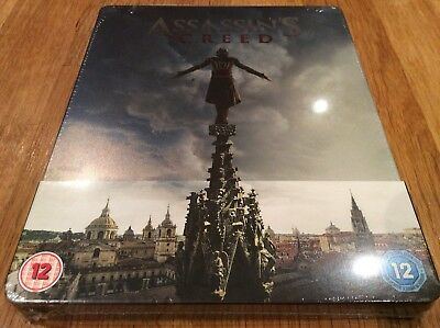 Assassins Creed - Factory Sealed 3D & Blu Ray Steelbook.