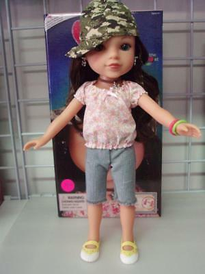 """Hearts for Hearts / Hearts 4 Hearts Doll named """"Dell"""" by New Doll in Box"""