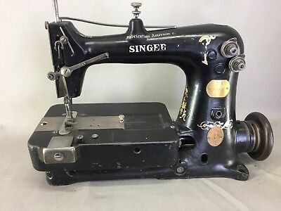 Old Sewing Machine Industrielle Singer 62-38