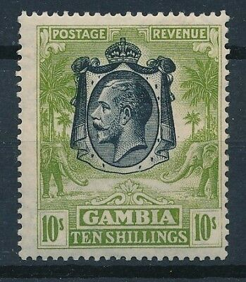 [36496] Gambia 1922/27 Good stamp Very Fine MH Value $100