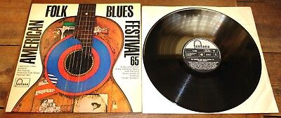 American Folk Blues Festival 65 Uk Fontana Lp Doctor Ross Big Mama Jb Lenoir