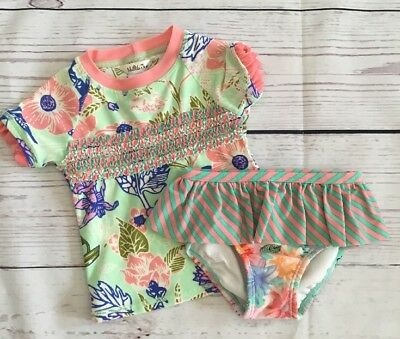 Matilda Jane The Adventure Begins Water Baby 2pc Swimsuit 18-24m Bathing Suit