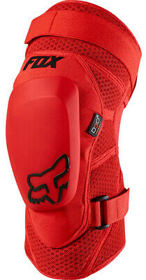 Fox Launch Pro D3O Knee Guards Red