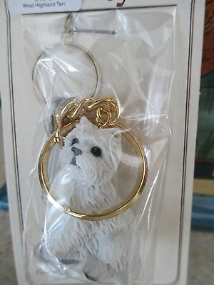 West Highland Terrier  ~   Key Chain