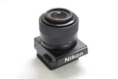 Nikon DW-4 6X Magnifier viewfinder for F3, F3HP + makers rear cap