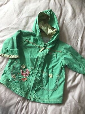 011ddb1e7 GIRLS NEXT Spring Jacket Coat Age 12-18 Months - £2.25